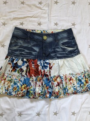 Desigual Mini rok veelkleurig