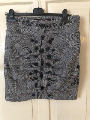 Desigual Mini rok zwart-grijs