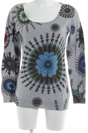 Desigual Crewneck Sweater floral pattern casual look