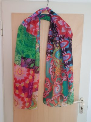 Desigual Summer Scarf multicolored