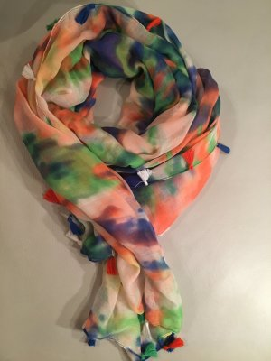 Desigual Summer Scarf multicolored polyester