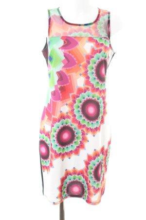 Desigual Vestido de tubo estampado con diseño abstracto look casual