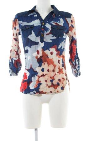 Desigual Schlupf-Bluse Blumenmuster Casual-Look