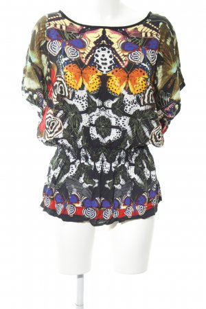 Desigual Schlupf-Bluse abstraktes Muster Casual-Look
