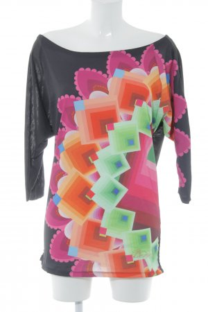 Desigual Schlupf-Bluse Mustermix Casual-Look
