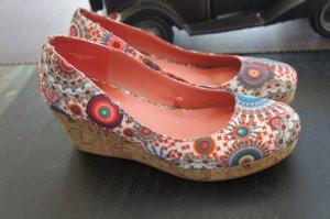 DESIGUAL Schuhe Wedge Größe 37 TOP