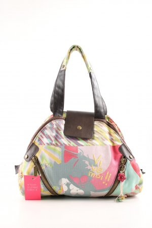 Desigual Schultertasche abstraktes Muster Casual-Look