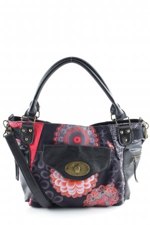 Desigual Schultertasche florales Muster Casual-Look