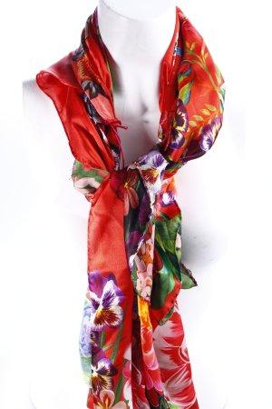Desigual Seidentuch florales Muster Hippie-Look