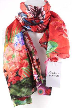 Desigual Seidentuch florales Muster klassischer Stil