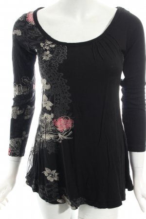 Desigual Shirt Blumenmuster Casual-Look