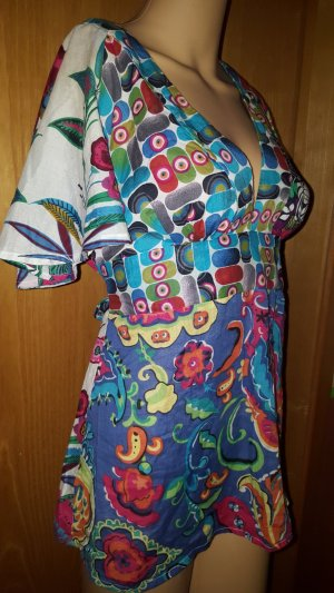 Desigual Short Sleeved Blouse multicolored
