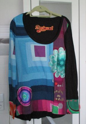 Desigual Shirt, bunt, Gr. XL, NEU