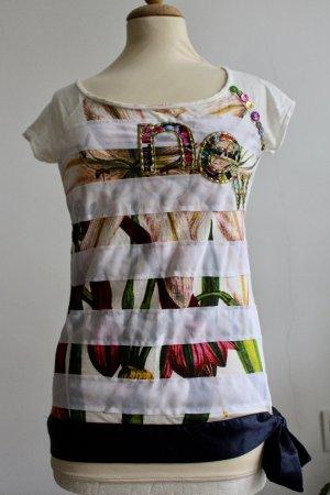 Desigual Camicia fantasia multicolore Cotone