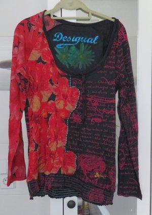 Desigual Shirt, Langarm, Gr. XL