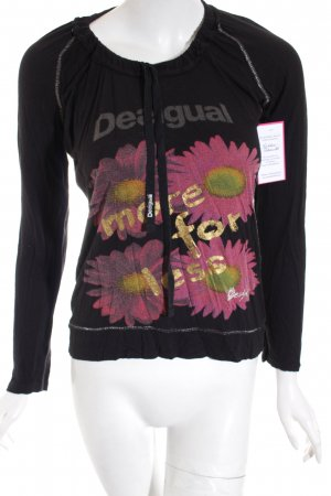 Desigual Shirt schwarz Casual-Look