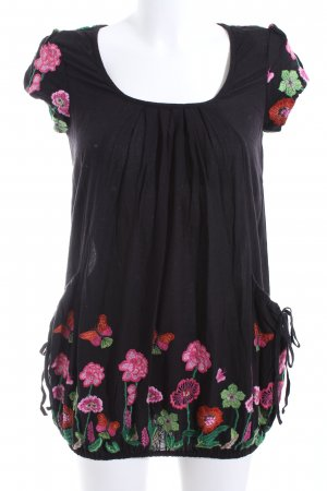 Desigual Shirtkleid Blumenmuster Casual-Look