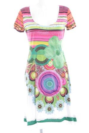 Desigual Robe t-shirt motif floral Look de plage