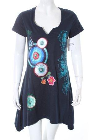 Desigual Shirtkleid Kunstmuster Casual-Look