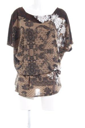 Desigual T-shirt jurk verfraaid patroon casual uitstraling
