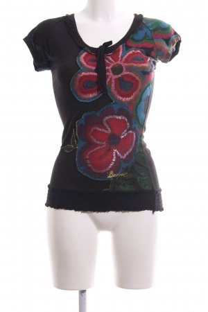 Desigual Shirt Tunic flower pattern casual look