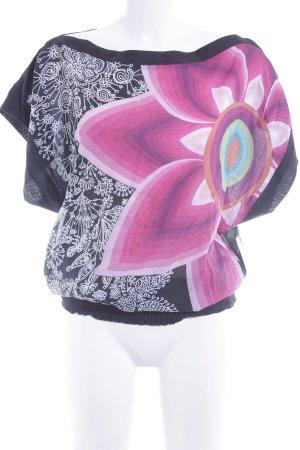 Desigual Shirttunika florales Muster extravaganter Stil