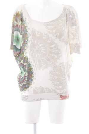 Desigual Shirt Tunic mixed pattern extravagant style