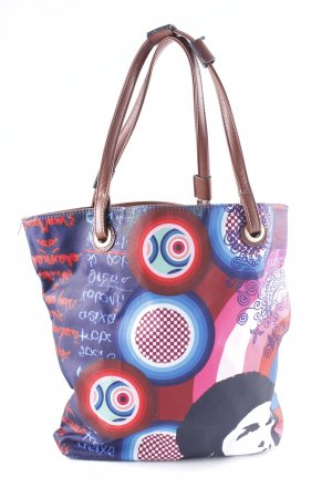 Desigual Shopper abstrakter Druck Casual-Look