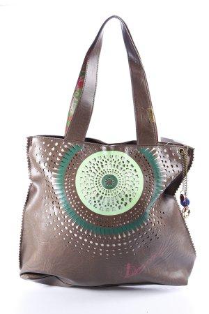 Desigual Shopper abstraktes Muster extravaganter Stil