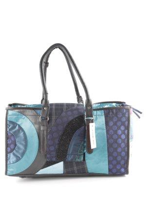 Desigual Shopper blue-turquoise extravagant style