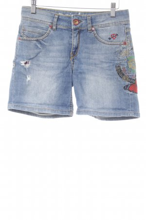 Desigual Shorts blue second hand look