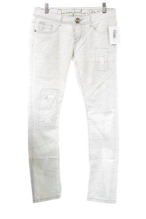 Desigual Skinny Jeans hellgrau Casual-Look