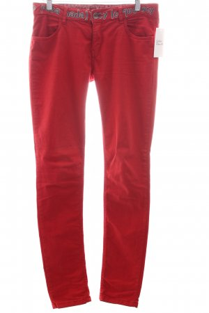 Desigual Skinny Jeans rot Casual-Look