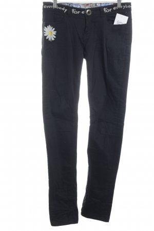 Desigual Skinny Jeans schwarz Jeans-Optik