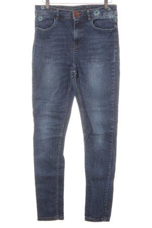 Desigual Slim jeans bloemenprint casual uitstraling