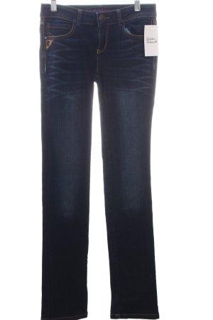 Desigual Slim Jeans dunkelblau klassischer Stil