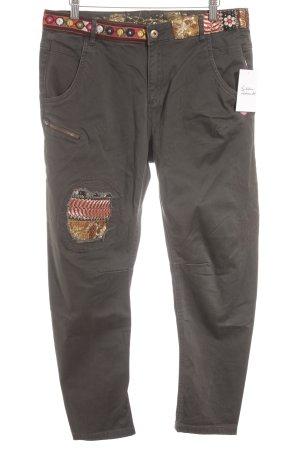 Desigual Slim Jeans grüngrau Casual-Look