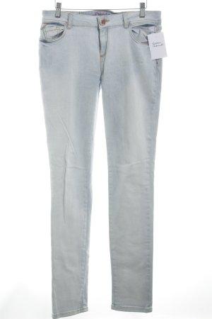 Desigual Slim Jeans himmelblau extravaganter Stil