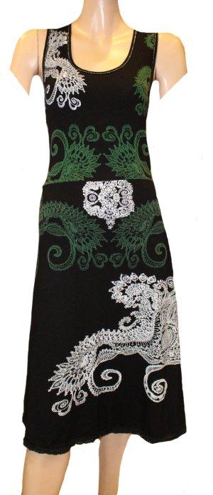 DESIGUAL Sommer Kleid schwarz Gr. 42/44