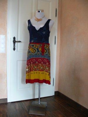 Desigual Sommerkleid, leuchtende, kräftige  Farben, gut kombinierbar, Gr. XL= 44-46