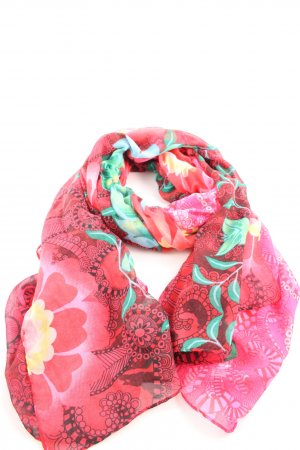 Desigual Summer Scarf flower pattern casual look