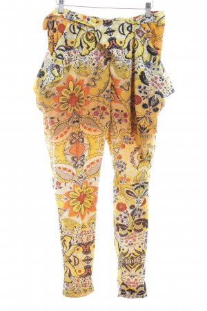 Desigual Stoffen broek bloemenprint extravagante stijl