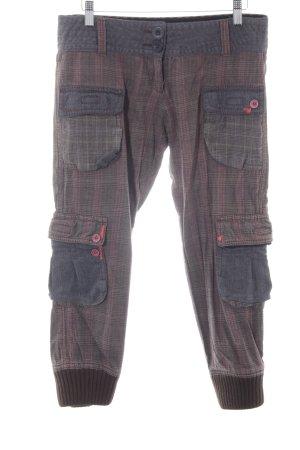 Desigual Stoffen broek glencheck patroon casual uitstraling