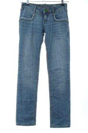 Desigual Straight-Leg Jeans blau Casual-Look