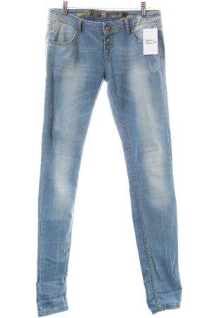Desigual Straight-Leg Jeans hellblau Casual-Look