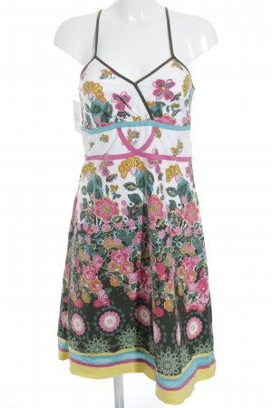 Desigual Beach Dress flower pattern '60s style