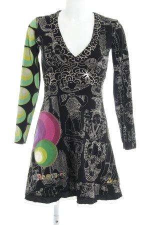 Desigual Stretch jurk prints met een thema Boho uitstraling