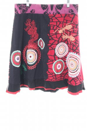 Desigual Stretchrock abstraktes Muster Street-Fashion-Look