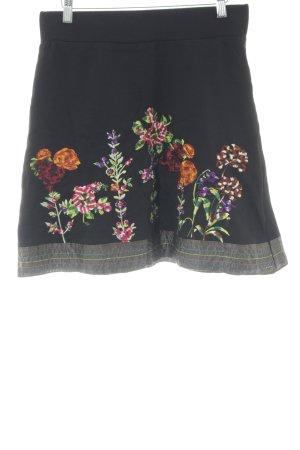 Desigual Stretchrock Blumenmuster extravaganter Stil