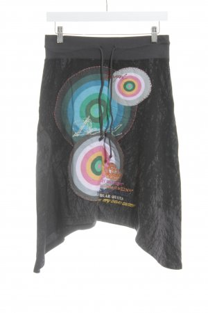 Desigual Stretchrock Mustermix Street-Fashion-Look